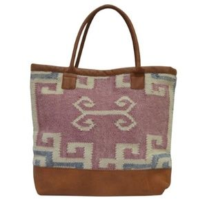 Anabaglish Bags - Brenna Woven Tote